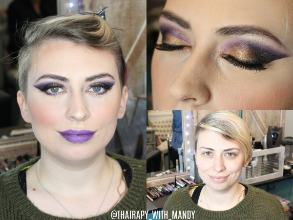 Makeup application by Mandy